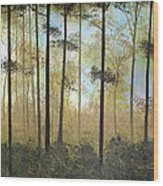 Forest Harmony Wood Print