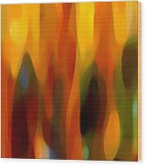 Forest Sunlight Horizontal Wood Print