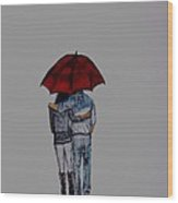 Forever By Your Side Series II Wood Print