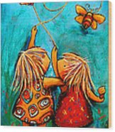 Forever Friends Wood Print by Karin Taylor