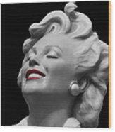 Forever Marilyn Wood Print