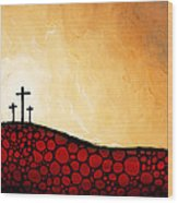 Forgiven - Christian Art By Sharon Cummings Wood Print