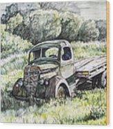 Forgotten Wood Print by Aaron Spong