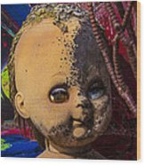 Forgotten Baby Doll Wood Print