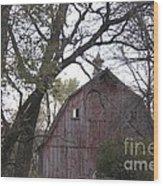 Forgotten Barn Wood Print