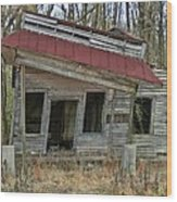 Forgotten Country Store Wood Print