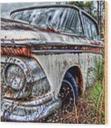 Forgotten Edsel Wood Print