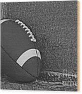 Forgotten Football  Wood Print