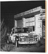 Forgotten Ford Wood Print