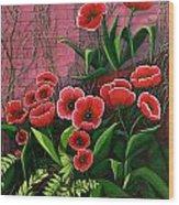 Forgotten Garden Wood Print