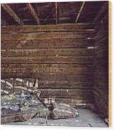 Forgotten Homestead Wood Print