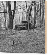 Forgotten In Time Wood Print