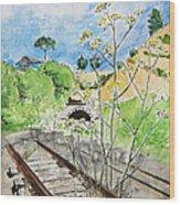 Forgotten Railway Wood Print