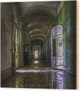 Forgotten Reflections Wood Print