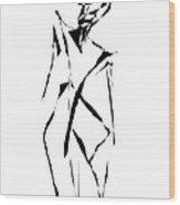 Form 091 Marucii Wood Print