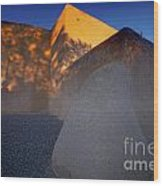 Form And Shadow--san Francisco De Asis - Color Wood Print