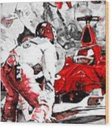 Formula 1 Bis Wood Print