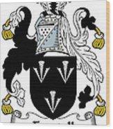 Forstall Coat Of Arms Irish Wood Print