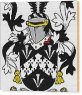 Forster Coat Of Arms Irish Wood Print
