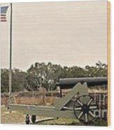 Fort Barrancas Pensacola Wood Print