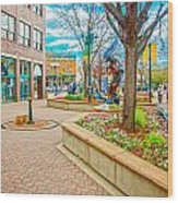 Fort Collins 3 Wood Print by Baywest Imaging