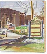 Fort Davidson Memorial Pilot Knob Missouri Wood Print