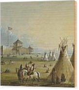 Fort Laramie Wood Print