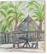 Fort Lauderdale By The Sea Wood Print