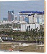 Fort Lauderdale Hollywood International Airport Wood Print