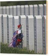 Fort Leavenworth National Cemetery Wood Print
