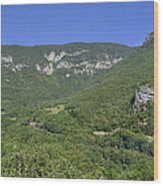 Fort L'ecluse - In The Rocks Wood Print