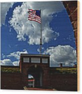 Fort Mchenry Main Gate Wood Print