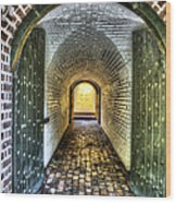 Fort Moultrie Door Wood Print