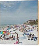 Fort Myers Beach Wood Print