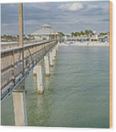 Fort Myers Beach Wood Print