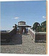 Fort Panorama Wood Print