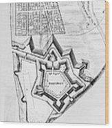 Fort Pitt, 1761 Wood Print