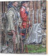 Fort Pitt Sentry's Wood Print