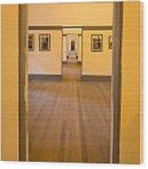 Fort Point - Officer's Floor Wood Print