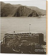 Fort Point And The Golden Gate San Francisco Circa 1890 Wood Print