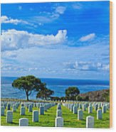 Fort Rosecrans National Cemetery 2 Wood Print