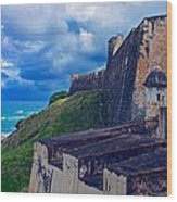 Fort San Cristobal Wood Print