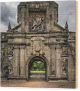 Fort Santiago Wood Print