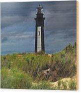 Fort Story Lighthouse Wood Print