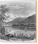 Fort Ticonderoga Ruins Wood Print