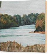 Fort Toulouse Coosa Tallapoosa River Wood Print