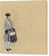 Fort Toulouse Drummer Boy Wood Print