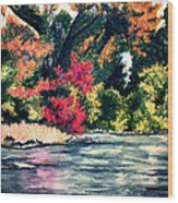 Fort Toulouse Tallapoosa River Flair Wood Print