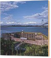 Fort Wadsworth Wood Print