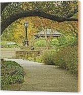 Fort Worth Japanese Gardens-040 Wood Print